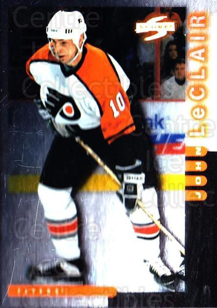 1997-98 Score Golden Blades #108 John LeClair<br/>3 In Stock - $2.00 each - <a href=https://centericecollectibles.foxycart.com/cart?name=1997-98%20Score%20Golden%20Blades%20%23108%20John%20LeClair...&quantity_max=3&price=$2.00&code=395669 class=foxycart> Buy it now! </a>