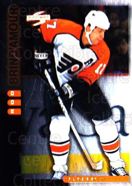1997-98 Score Golden Blades #127 Rod Brind'Amour<br/>3 In Stock - $2.00 each - <a href=https://centericecollectibles.foxycart.com/cart?name=1997-98%20Score%20Golden%20Blades%20%23127%20Rod%20Brind'Amour...&quantity_max=3&price=$2.00&code=395670 class=foxycart> Buy it now! </a>