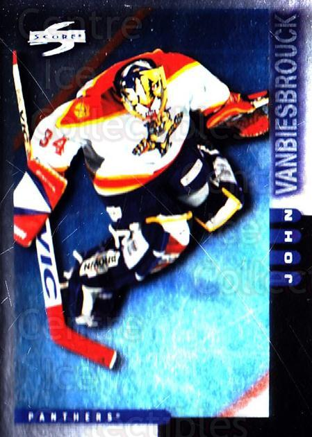 1997-98 Score Golden Blades #34 John Vanbiesbrouck<br/>2 In Stock - $2.00 each - <a href=https://centericecollectibles.foxycart.com/cart?name=1997-98%20Score%20Golden%20Blades%20%2334%20John%20Vanbiesbro...&quantity_max=2&price=$2.00&code=395721 class=foxycart> Buy it now! </a>