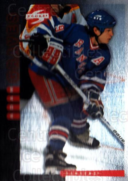 1997-98 Score Golden Blades #142 Adam Graves<br/>4 In Stock - $2.00 each - <a href=https://centericecollectibles.foxycart.com/cart?name=1997-98%20Score%20Golden%20Blades%20%23142%20Adam%20Graves...&quantity_max=4&price=$2.00&code=395762 class=foxycart> Buy it now! </a>