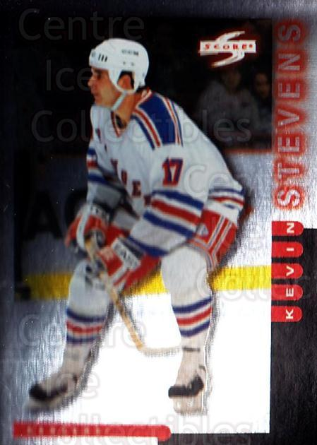 1997-98 Score Golden Blades #159 Kevin Stevens<br/>3 In Stock - $2.00 each - <a href=https://centericecollectibles.foxycart.com/cart?name=1997-98%20Score%20Golden%20Blades%20%23159%20Kevin%20Stevens...&quantity_max=3&price=$2.00&code=395765 class=foxycart> Buy it now! </a>
