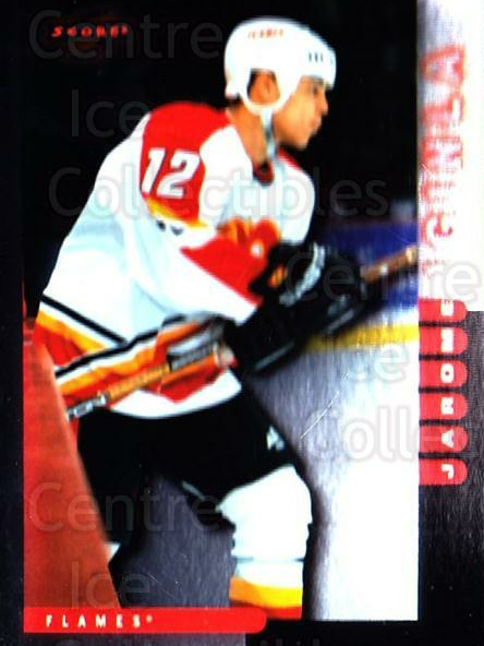 1997-98 Score Golden Blades #123 Jarome Iginla<br/>1 In Stock - $2.00 each - <a href=https://centericecollectibles.foxycart.com/cart?name=1997-98%20Score%20Golden%20Blades%20%23123%20Jarome%20Iginla...&quantity_max=1&price=$2.00&code=395812 class=foxycart> Buy it now! </a>