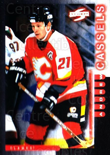 1997-98 Score Golden Blades #134 Andrew Cassels<br/>4 In Stock - $2.00 each - <a href=https://centericecollectibles.foxycart.com/cart?name=1997-98%20Score%20Golden%20Blades%20%23134%20Andrew%20Cassels...&quantity_max=4&price=$2.00&code=395816 class=foxycart> Buy it now! </a>