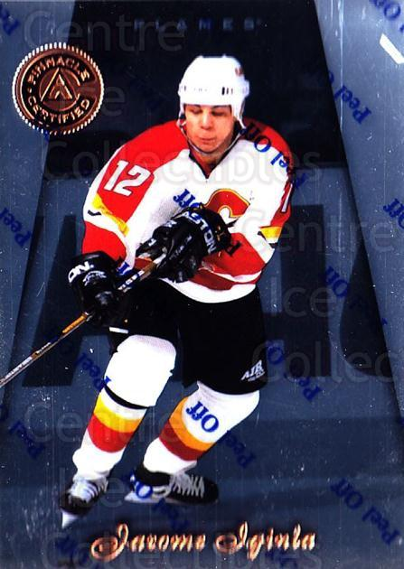 1997-98 Pinnacle Certified #55 Jarome Iginla<br/>1 In Stock - $1.00 each - <a href=https://centericecollectibles.foxycart.com/cart?name=1997-98%20Pinnacle%20Certified%20%2355%20Jarome%20Iginla...&quantity_max=1&price=$1.00&code=396041 class=foxycart> Buy it now! </a>
