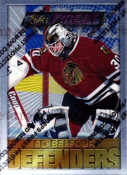 1995-96 Finest #108 Ed Belfour<br/>4 In Stock - $3.00 each - <a href=https://centericecollectibles.foxycart.com/cart?name=1995-96%20Finest%20%23108%20Ed%20Belfour...&price=$3.00&code=39609 class=foxycart> Buy it now! </a>