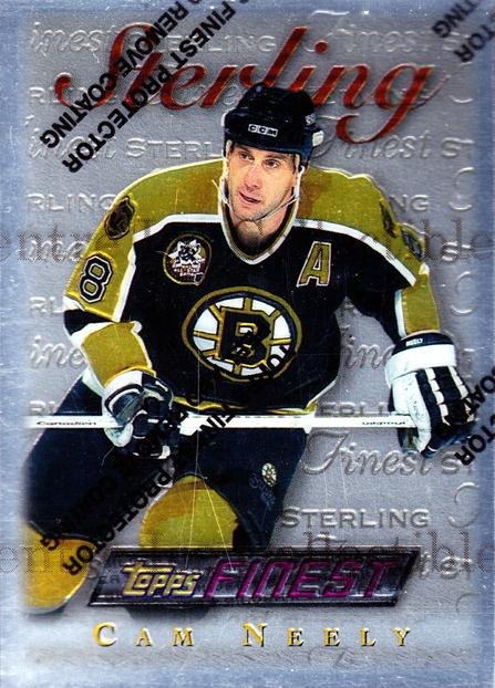 1995-96 Finest #110 Cam Neely<br/>5 In Stock - $2.00 each - <a href=https://centericecollectibles.foxycart.com/cart?name=1995-96%20Finest%20%23110%20Cam%20Neely...&quantity_max=5&price=$2.00&code=39612 class=foxycart> Buy it now! </a>