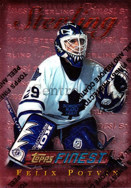 1995-96 Finest #135 Felix Potvin<br/>6 In Stock - $1.00 each - <a href=https://centericecollectibles.foxycart.com/cart?name=1995-96%20Finest%20%23135%20Felix%20Potvin...&quantity_max=6&price=$1.00&code=39637 class=foxycart> Buy it now! </a>