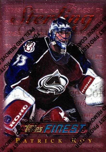 1995-96 Finest #145 Patrick Roy<br/>1 In Stock - $2.00 each - <a href=https://centericecollectibles.foxycart.com/cart?name=1995-96%20Finest%20%23145%20Patrick%20Roy...&quantity_max=1&price=$2.00&code=39648 class=foxycart> Buy it now! </a>