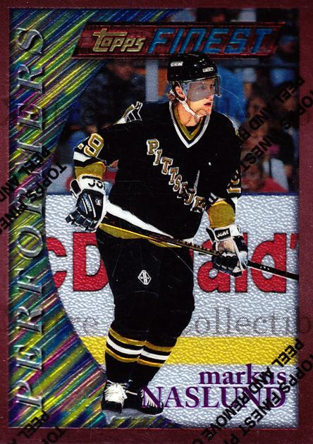 1995-96 Finest #154 Markus Naslund<br/>7 In Stock - $1.00 each - <a href=https://centericecollectibles.foxycart.com/cart?name=1995-96%20Finest%20%23154%20Markus%20Naslund...&quantity_max=7&price=$1.00&code=39658 class=foxycart> Buy it now! </a>