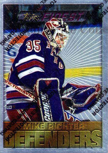 1995-96 Finest #169 Mike Richter<br/>1 In Stock - $2.00 each - <a href=https://centericecollectibles.foxycart.com/cart?name=1995-96%20Finest%20%23169%20Mike%20Richter...&quantity_max=1&price=$2.00&code=39673 class=foxycart> Buy it now! </a>