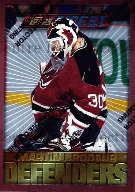 1995-96 Finest #178 Martin Brodeur<br/>5 In Stock - $2.00 each - <a href=https://centericecollectibles.foxycart.com/cart?name=1995-96%20Finest%20%23178%20Martin%20Brodeur...&price=$2.00&code=39683 class=foxycart> Buy it now! </a>