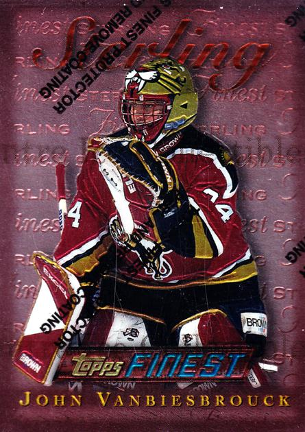 1995-96 Finest #188 John Vanbiesbrouck<br/>6 In Stock - $1.00 each - <a href=https://centericecollectibles.foxycart.com/cart?name=1995-96%20Finest%20%23188%20John%20Vanbiesbro...&quantity_max=6&price=$1.00&code=39690 class=foxycart> Buy it now! </a>