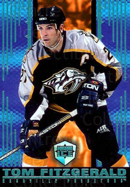 1998-99 Dynagon Ice Blue #102 Tom Fitzgerald<br/>1 In Stock - $5.00 each - <a href=https://centericecollectibles.foxycart.com/cart?name=1998-99%20Dynagon%20Ice%20Blue%20%23102%20Tom%20Fitzgerald...&quantity_max=1&price=$5.00&code=396942 class=foxycart> Buy it now! </a>