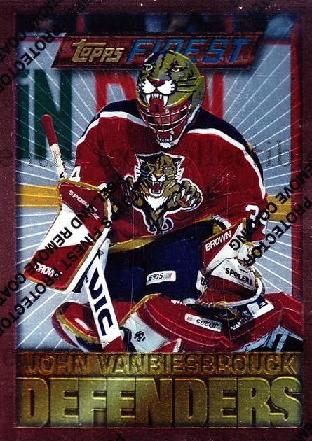 1995-96 Finest #20 John Vanbiesbrouck<br/>6 In Stock - $1.00 each - <a href=https://centericecollectibles.foxycart.com/cart?name=1995-96%20Finest%20%2320%20John%20Vanbiesbro...&quantity_max=6&price=$1.00&code=39695 class=foxycart> Buy it now! </a>