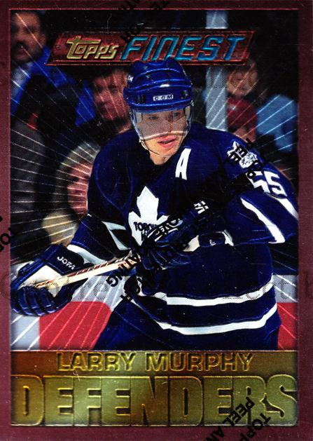 1995-96 Finest #42 Larry Murphy<br/>7 In Stock - $1.00 each - <a href=https://centericecollectibles.foxycart.com/cart?name=1995-96%20Finest%20%2342%20Larry%20Murphy...&quantity_max=7&price=$1.00&code=39718 class=foxycart> Buy it now! </a>