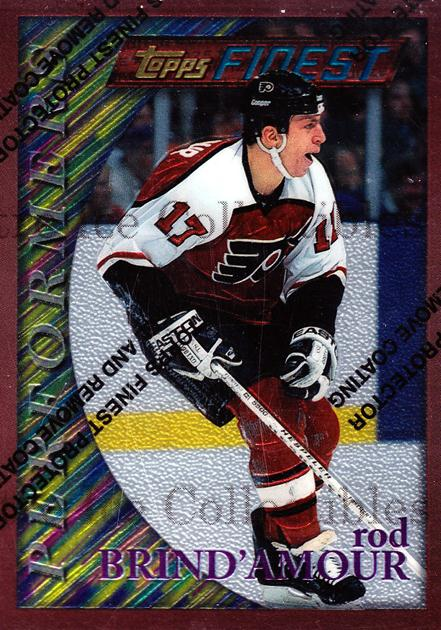 1995-96 Finest #44 Rod Brind'Amour<br/>6 In Stock - $1.00 each - <a href=https://centericecollectibles.foxycart.com/cart?name=1995-96%20Finest%20%2344%20Rod%20Brind'Amour...&quantity_max=6&price=$1.00&code=39720 class=foxycart> Buy it now! </a>