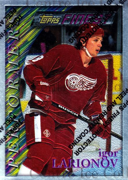 1995-96 Finest #57 Igor Larionov<br/>8 In Stock - $2.00 each - <a href=https://centericecollectibles.foxycart.com/cart?name=1995-96%20Finest%20%2357%20Igor%20Larionov...&quantity_max=8&price=$2.00&code=39733 class=foxycart> Buy it now! </a>