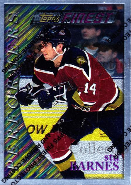 1995-96 Finest #68 Stu Barnes<br/>8 In Stock - $2.00 each - <a href=https://centericecollectibles.foxycart.com/cart?name=1995-96%20Finest%20%2368%20Stu%20Barnes...&quantity_max=8&price=$2.00&code=39744 class=foxycart> Buy it now! </a>
