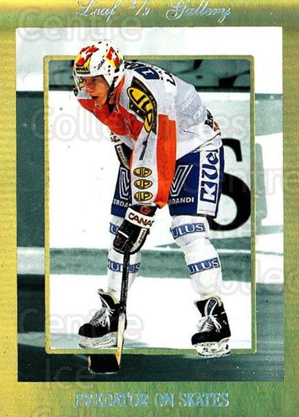 1995-96 Finnish Limited Leaf Gallery #2 Janne Laukkanen<br/>3 In Stock - $3.00 each - <a href=https://centericecollectibles.foxycart.com/cart?name=1995-96%20Finnish%20Limited%20Leaf%20Gallery%20%232%20Janne%20Laukkanen...&quantity_max=3&price=$3.00&code=39756 class=foxycart> Buy it now! </a>