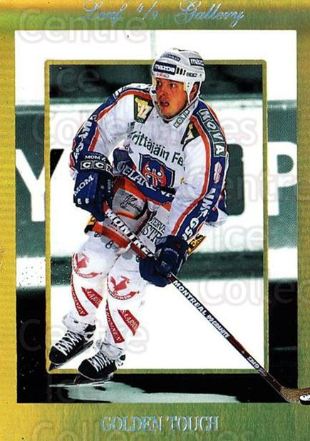 1995-96 Finnish Limited Leaf Gallery #4 Janne Ojanen<br/>3 In Stock - $3.00 each - <a href=https://centericecollectibles.foxycart.com/cart?name=1995-96%20Finnish%20Limited%20Leaf%20Gallery%20%234%20Janne%20Ojanen...&quantity_max=3&price=$3.00&code=39758 class=foxycart> Buy it now! </a>