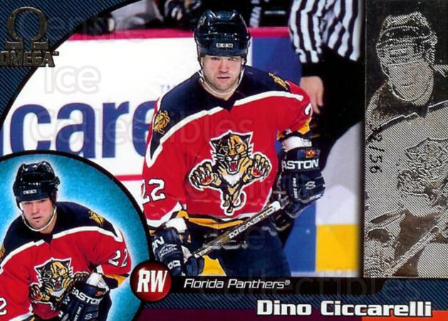 1998-99 Omega Opening Day Issue #101 Dino Ciccarelli<br/>1 In Stock - $5.00 each - <a href=https://centericecollectibles.foxycart.com/cart?name=1998-99%20Omega%20Opening%20Day%20Issue%20%23101%20Dino%20Ciccarelli...&quantity_max=1&price=$5.00&code=397687 class=foxycart> Buy it now! </a>