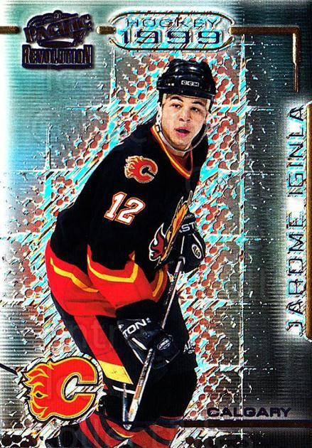 1998-99 Revolution #20 Jarome Iginla<br/>2 In Stock - $1.00 each - <a href=https://centericecollectibles.foxycart.com/cart?name=1998-99%20Revolution%20%2320%20Jarome%20Iginla...&quantity_max=2&price=$1.00&code=398087 class=foxycart> Buy it now! </a>