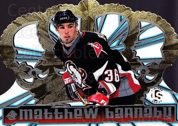 1998-99 Crown Royale Limited Series #11 Matthew Barnaby<br/>1 In Stock - $5.00 each - <a href=https://centericecollectibles.foxycart.com/cart?name=1998-99%20Crown%20Royale%20Limited%20Series%20%2311%20Matthew%20Barnaby...&quantity_max=1&price=$5.00&code=398430 class=foxycart> Buy it now! </a>