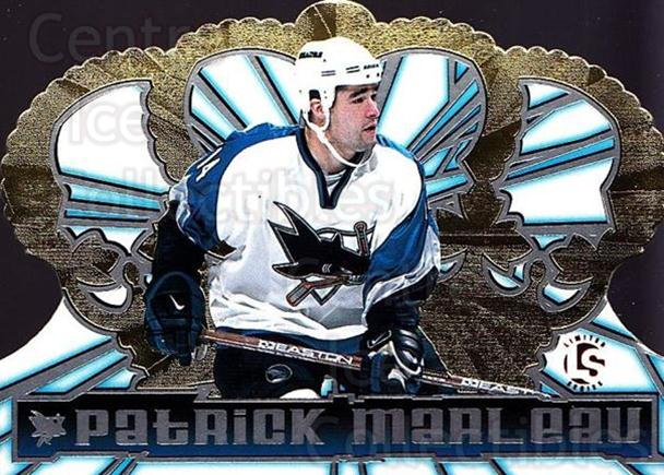 1998-99 Crown Royale Limited Series #119 Patrick Marleau<br/>2 In Stock - $5.00 each - <a href=https://centericecollectibles.foxycart.com/cart?name=1998-99%20Crown%20Royale%20Limited%20Series%20%23119%20Patrick%20Marleau...&quantity_max=2&price=$5.00&code=398439 class=foxycart> Buy it now! </a>