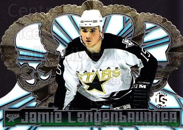 1998-99 Crown Royale Limited Series #39 Jamie Langenbrunner<br/>1 In Stock - $5.00 each - <a href=https://centericecollectibles.foxycart.com/cart?name=1998-99%20Crown%20Royale%20Limited%20Series%20%2339%20Jamie%20Langenbru...&quantity_max=1&price=$5.00&code=398485 class=foxycart> Buy it now! </a>