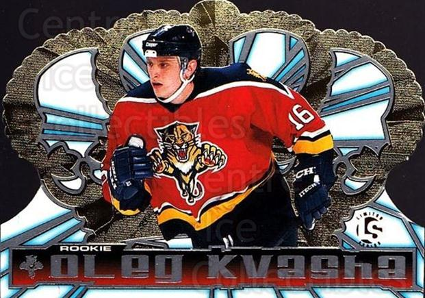 1998-99 Crown Royale Limited Series #60 Oleg Kvasha<br/>2 In Stock - $5.00 each - <a href=https://centericecollectibles.foxycart.com/cart?name=1998-99%20Crown%20Royale%20Limited%20Series%20%2360%20Oleg%20Kvasha...&quantity_max=2&price=$5.00&code=398505 class=foxycart> Buy it now! </a>