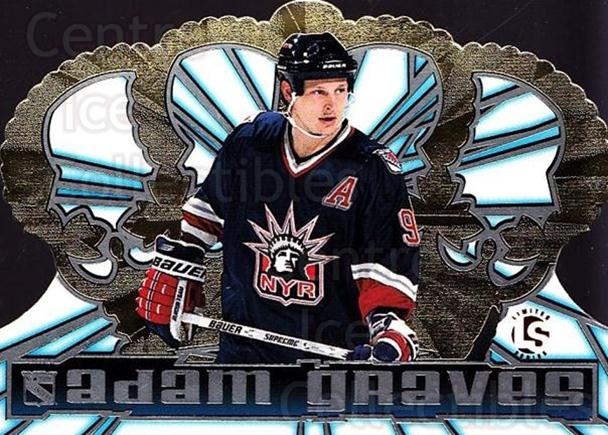 1998-99 Crown Royale Limited Series #87 Adam Graves<br/>1 In Stock - $5.00 each - <a href=https://centericecollectibles.foxycart.com/cart?name=1998-99%20Crown%20Royale%20Limited%20Series%20%2387%20Adam%20Graves...&quantity_max=1&price=$5.00&code=398533 class=foxycart> Buy it now! </a>