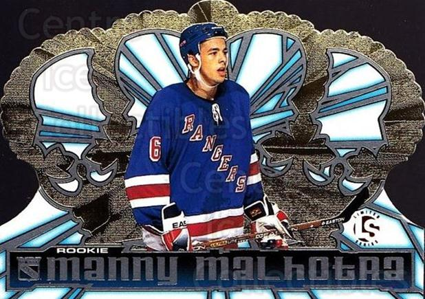 1998-99 Crown Royale Limited Series #90 Manny Malhotra<br/>1 In Stock - $5.00 each - <a href=https://centericecollectibles.foxycart.com/cart?name=1998-99%20Crown%20Royale%20Limited%20Series%20%2390%20Manny%20Malhotra...&quantity_max=1&price=$5.00&code=398536 class=foxycart> Buy it now! </a>