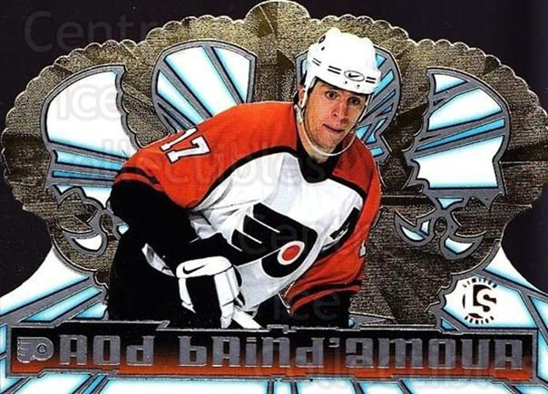 1998-99 Crown Royale Limited Series #97 Rod Brind'Amour<br/>1 In Stock - $5.00 each - <a href=https://centericecollectibles.foxycart.com/cart?name=1998-99%20Crown%20Royale%20Limited%20Series%20%2397%20Rod%20Brind'Amour...&quantity_max=1&price=$5.00&code=398543 class=foxycart> Buy it now! </a>