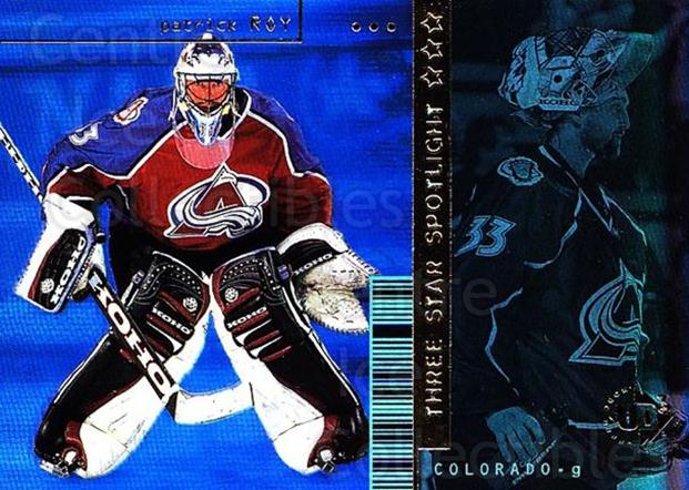 1998-99 Upper Deck UD3 #46 Patrick Roy<br/>1 In Stock - $3.00 each - <a href=https://centericecollectibles.foxycart.com/cart?name=1998-99%20Upper%20Deck%20UD3%20%2346%20Patrick%20Roy...&price=$3.00&code=399041 class=foxycart> Buy it now! </a>