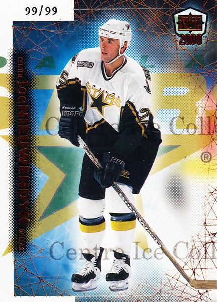 1999-00 Dynagon Ice Copper #69 Joe Nieuwendyk<br/>3 In Stock - $5.00 each - <a href=https://centericecollectibles.foxycart.com/cart?name=1999-00%20Dynagon%20Ice%20Copper%20%2369%20Joe%20Nieuwendyk...&quantity_max=3&price=$5.00&code=399802 class=foxycart> Buy it now! </a>