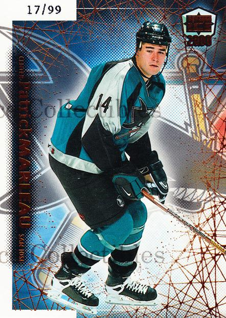 1999-00 Dynagon Ice Copper #173 Patrick Marleau<br/>1 In Stock - $5.00 each - <a href=https://centericecollectibles.foxycart.com/cart?name=1999-00%20Dynagon%20Ice%20Copper%20%23173%20Patrick%20Marleau...&quantity_max=1&price=$5.00&code=399838 class=foxycart> Buy it now! </a>