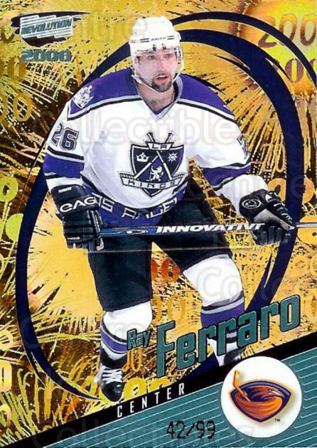 1999-00 Revolution Shadow Series #7 Ray Ferraro<br/>1 In Stock - $5.00 each - <a href=https://centericecollectibles.foxycart.com/cart?name=1999-00%20Revolution%20Shadow%20Series%20%237%20Ray%20Ferraro...&quantity_max=1&price=$5.00&code=400673 class=foxycart> Buy it now! </a>