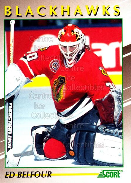 1991-92 Score Young Superstars #32 Ed Belfour<br/>16 In Stock - $2.00 each - <a href=https://centericecollectibles.foxycart.com/cart?name=1991-92%20Score%20Young%20Superstars%20%2332%20Ed%20Belfour...&price=$2.00&code=400 class=foxycart> Buy it now! </a>