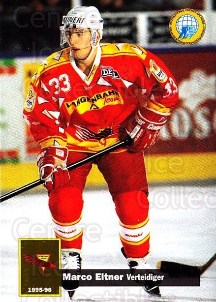 1995-96 German DEL #177 Marco Eltner<br/>15 In Stock - $2.00 each - <a href=https://centericecollectibles.foxycart.com/cart?name=1995-96%20German%20DEL%20%23177%20Marco%20Eltner...&quantity_max=15&price=$2.00&code=40112 class=foxycart> Buy it now! </a>