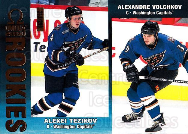 1999-00 Omega Gold #247 Alexei Tezikov, Alexandre Volchkov<br/>4 In Stock - $3.00 each - <a href=https://centericecollectibles.foxycart.com/cart?name=1999-00%20Omega%20Gold%20%23247%20Alexei%20Tezikov,...&quantity_max=4&price=$3.00&code=401436 class=foxycart> Buy it now! </a>