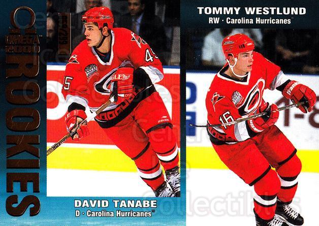 1999-00 Omega Gold #50 David Tanabe, Tommy Westlund<br/>1 In Stock - $3.00 each - <a href=https://centericecollectibles.foxycart.com/cart?name=1999-00%20Omega%20Gold%20%2350%20David%20Tanabe,%20T...&quantity_max=1&price=$3.00&code=401453 class=foxycart> Buy it now! </a>