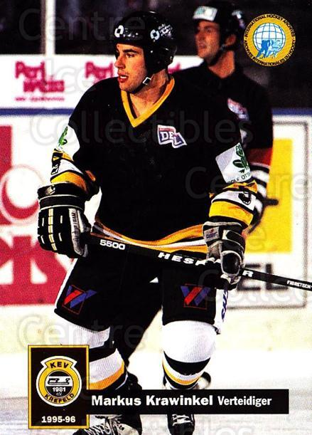 1995-96 German DEL #221 Markus Krawinkel<br/>14 In Stock - $2.00 each - <a href=https://centericecollectibles.foxycart.com/cart?name=1995-96%20German%20DEL%20%23221%20Markus%20Krawinke...&quantity_max=14&price=$2.00&code=40162 class=foxycart> Buy it now! </a>