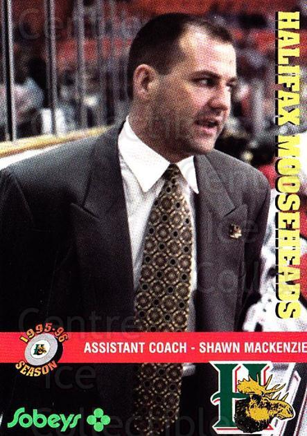 1995-96 Halifax Mooseheads #23 Shawn MacKenzie<br/>2 In Stock - $3.00 each - <a href=https://centericecollectibles.foxycart.com/cart?name=1995-96%20Halifax%20Mooseheads%20%2323%20Shawn%20MacKenzie...&quantity_max=2&price=$3.00&code=40193 class=foxycart> Buy it now! </a>