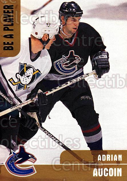 1999-00 BAP Memorabilia Gold #292 Adrian Aucoin<br/>2 In Stock - $5.00 each - <a href=https://centericecollectibles.foxycart.com/cart?name=1999-00%20BAP%20Memorabilia%20Gold%20%23292%20Adrian%20Aucoin...&quantity_max=2&price=$5.00&code=401940 class=foxycart> Buy it now! </a>