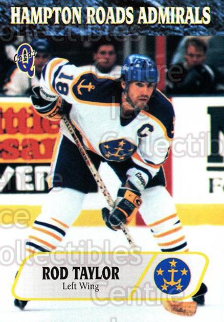 1995-96 Hampton Roads Admirals #12 Rod Taylor<br/>7 In Stock - $3.00 each - <a href=https://centericecollectibles.foxycart.com/cart?name=1995-96%20Hampton%20Roads%20Admirals%20%2312%20Rod%20Taylor...&quantity_max=7&price=$3.00&code=40206 class=foxycart> Buy it now! </a>