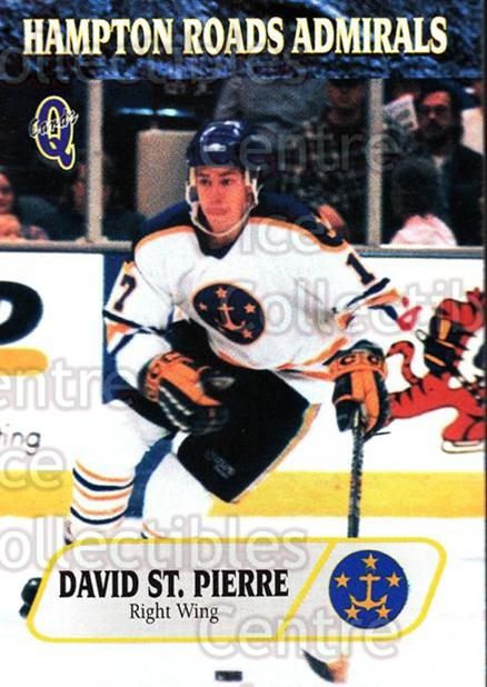 1995-96 Hampton Roads Admirals #14 David St.Pierre<br/>6 In Stock - $3.00 each - <a href=https://centericecollectibles.foxycart.com/cart?name=1995-96%20Hampton%20Roads%20Admirals%20%2314%20David%20St.Pierre...&quantity_max=6&price=$3.00&code=40208 class=foxycart> Buy it now! </a>