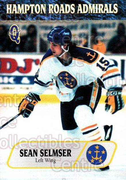 1995-96 Hampton Roads Admirals #19 Sean Selmser<br/>2 In Stock - $3.00 each - <a href=https://centericecollectibles.foxycart.com/cart?name=1995-96%20Hampton%20Roads%20Admirals%20%2319%20Sean%20Selmser...&quantity_max=2&price=$3.00&code=40213 class=foxycart> Buy it now! </a>