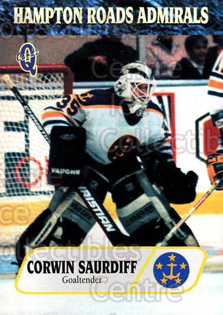 1995-96 Hampton Roads Admirals #23 Corwin Saurdiff<br/>3 In Stock - $3.00 each - <a href=https://centericecollectibles.foxycart.com/cart?name=1995-96%20Hampton%20Roads%20Admirals%20%2323%20Corwin%20Saurdiff...&quantity_max=3&price=$3.00&code=40216 class=foxycart> Buy it now! </a>