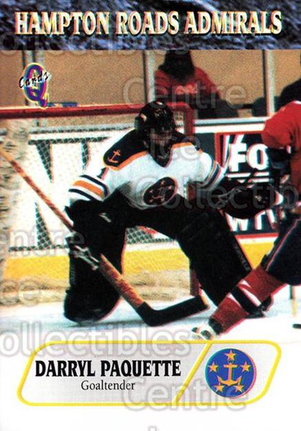 1995-96 Hampton Roads Admirals #4 Darryl Paquette<br/>1 In Stock - $3.00 each - <a href=https://centericecollectibles.foxycart.com/cart?name=1995-96%20Hampton%20Roads%20Admirals%20%234%20Darryl%20Paquette...&quantity_max=1&price=$3.00&code=40220 class=foxycart> Buy it now! </a>