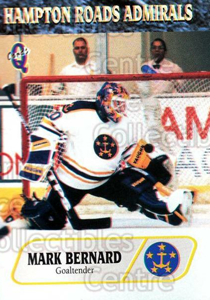 1995-96 Hampton Roads Admirals #5 Mark Bernard<br/>2 In Stock - $3.00 each - <a href=https://centericecollectibles.foxycart.com/cart?name=1995-96%20Hampton%20Roads%20Admirals%20%235%20Mark%20Bernard...&quantity_max=2&price=$3.00&code=40221 class=foxycart> Buy it now! </a>